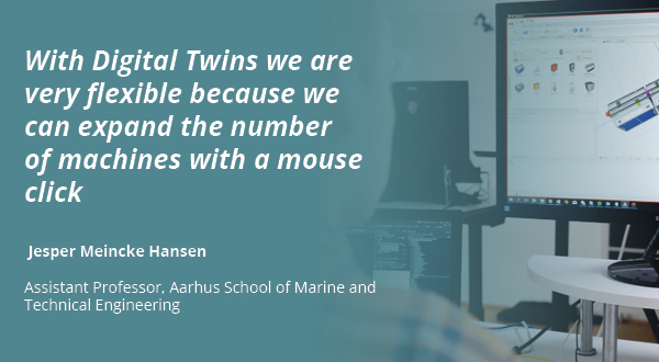 Technical schools use Digital Twins in the classroom